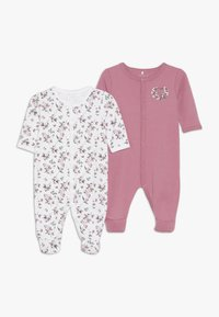 Name it - NBFNIGHTSUIT 2 PACK - Pyjama - heather rose - 0