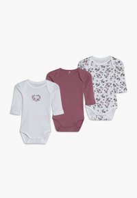 Name it - NBFBODY FLOWER 3 PACK - Body - heather rose - 0