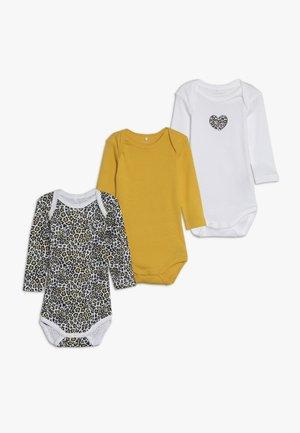 NBFBODY ANIMAL 3 PACK  - Pyjamas - golden rod