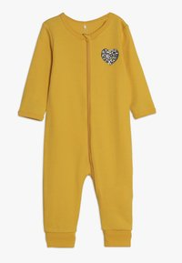 Name it - NBFNIGHTSUIT ZIP 2 PACK - Pyjama - golden rod - 1