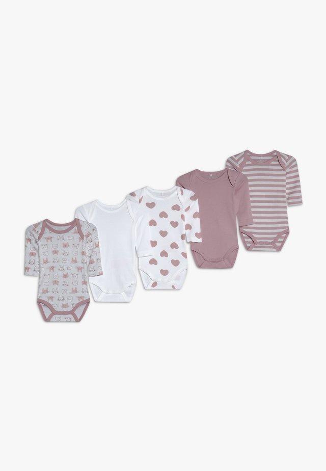 NBFBODY 5 PACK - Pyjama - pink nectar