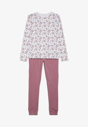 NKFNIGHTSET FLOWER  - Nattøj sæt - heather rose