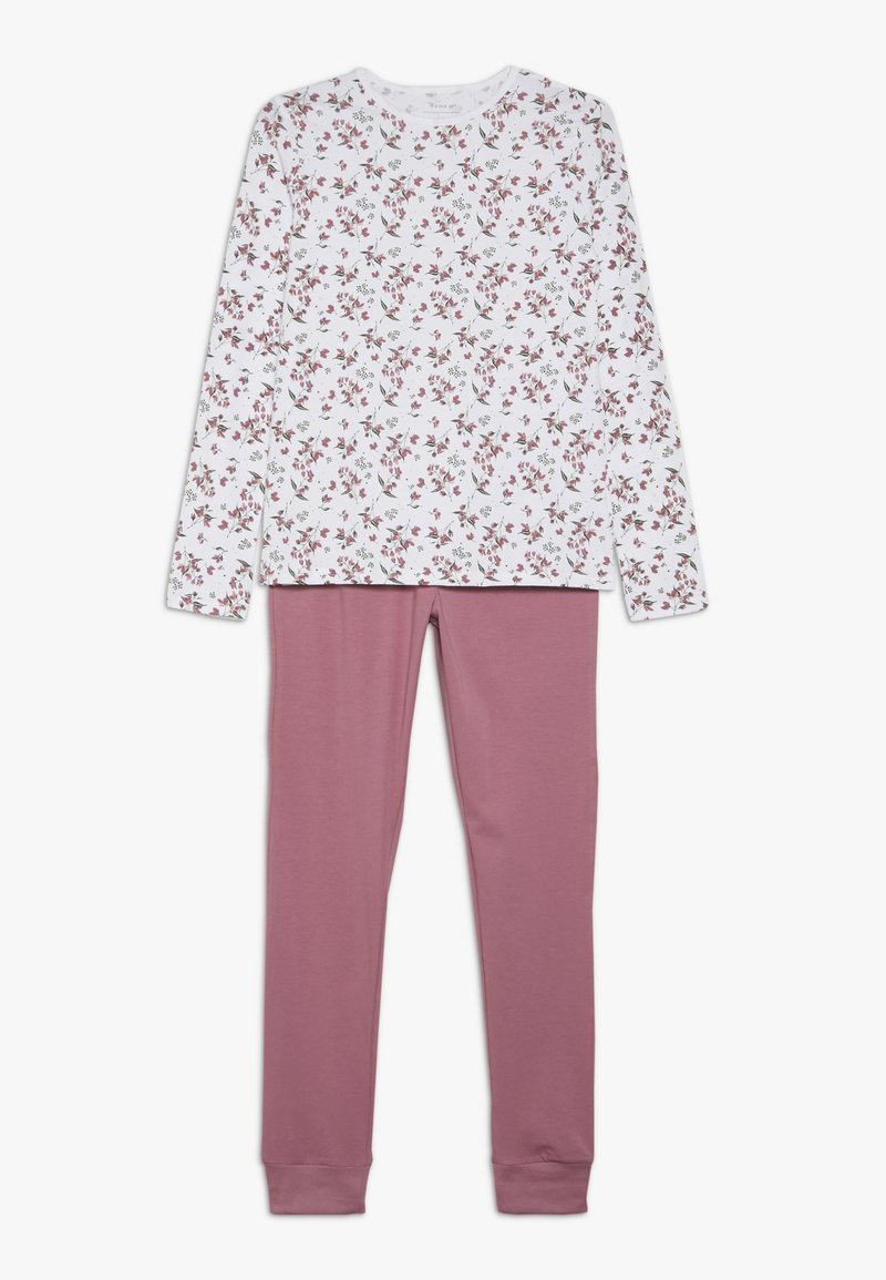Name it - NKFNIGHTSET FLOWER  - Pijama - heather rose