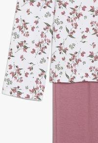 Name it - NKFNIGHTSET FLOWER  - Pijama - heather rose - 4