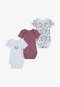 Name it - NBFBODY FLOWER 3 PACK - Pyjama - heather rose - 4