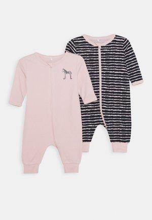 NBFNIGHTSUIT ZIP 2 PACK - Pyjama - potpourri