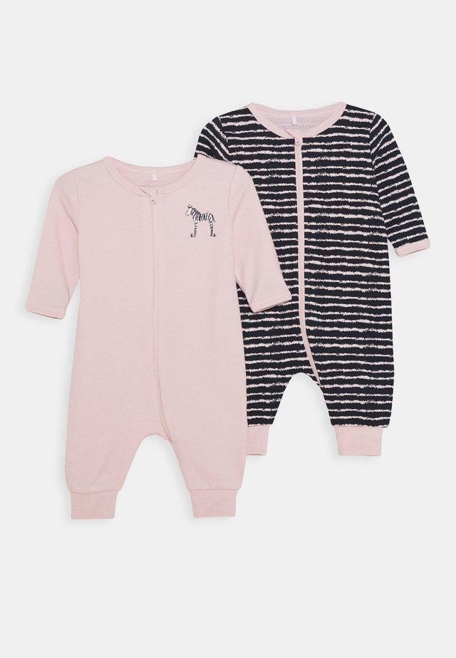 NBFNIGHTSUIT ZIP 2 PACK - Pyjamaser - potpourri