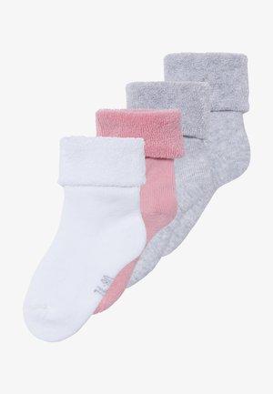 NBFRIFFE 5 PACK - Ponožky - pink nectar