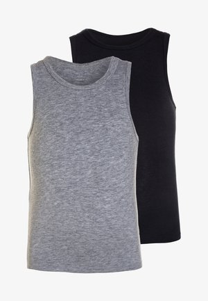 NMMTANK 2 PACK - Camiseta interior - grey melange