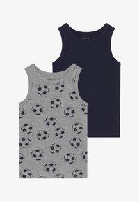 Name it - NMMTANK FOOTBALL 2 PACK - Undershirt - grey melange - 3