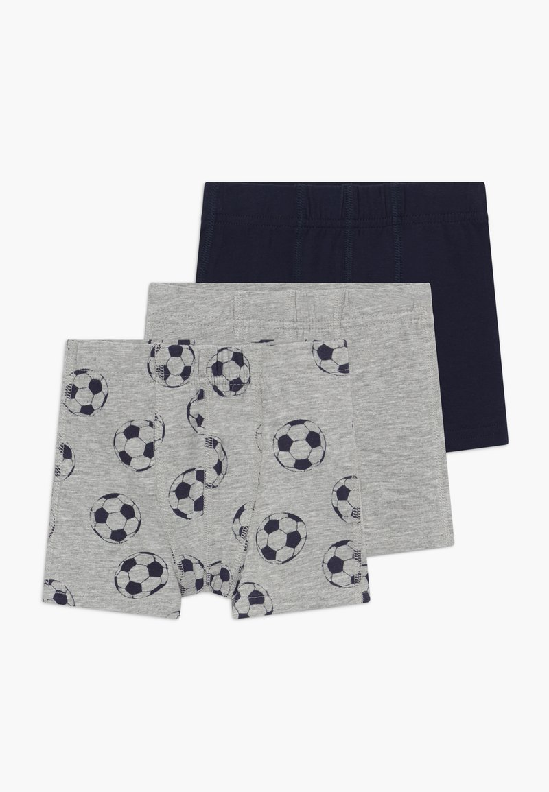 Name it - NMMTIGHTS FOOTBALL 3PACK  - Boxerky - grey melange