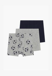 Name it - NMMTIGHTS FOOTBALL 3PACK  - Boxerky - grey melange - 3