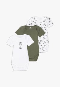 Name it - ZEBRA 3 PACK - Body - loden green - 0