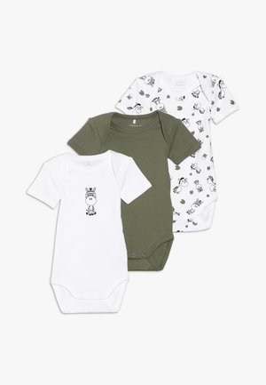 ZEBRA 3 PACK - Body - loden green