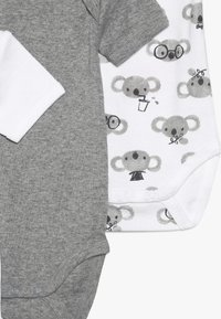 Name it - NBNBODY BEAR 5 PACK - Body - grey melange - 3