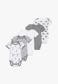 Name it - NBNBODY BEAR 5 PACK - Body - grey melange - 0