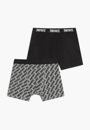 NKMFORTNITE RUBEN 2 PACK - Panties - black