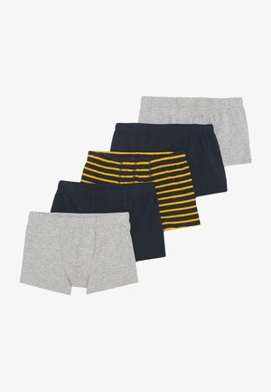 NKMTIGHTS 5 PACK  - Boxerky - grey melange