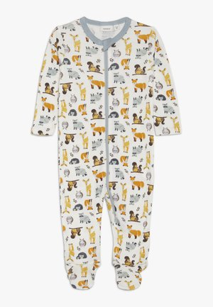 NBMWILLIT NIGHTSUIT - Pijama - snow white