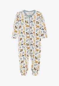 Name it - NBMWILLIT NIGHTSUIT - Pijama - snow white - 2