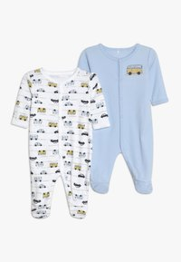 Name it - NBMNIGHTSUIT 2 PACK - Pyjama - blue - 0