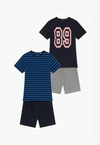 Name it - NKMDELVIN 2 PACK - Pijama - strong blue - 6