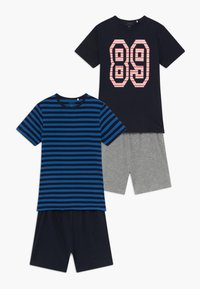 Name it - NKMDELVIN 2 PACK - Pijama - strong blue - 0