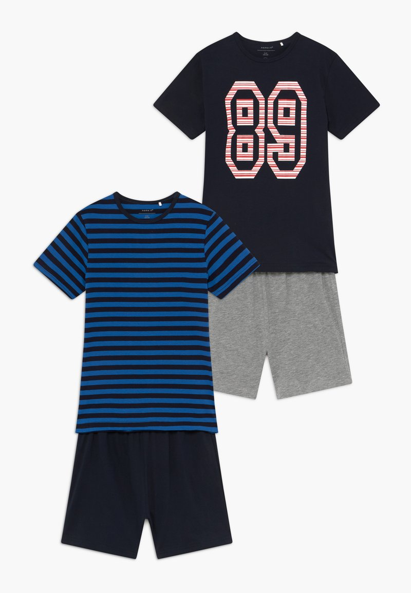 Name it - NKMDELVIN 2 PACK - Pijama - strong blue