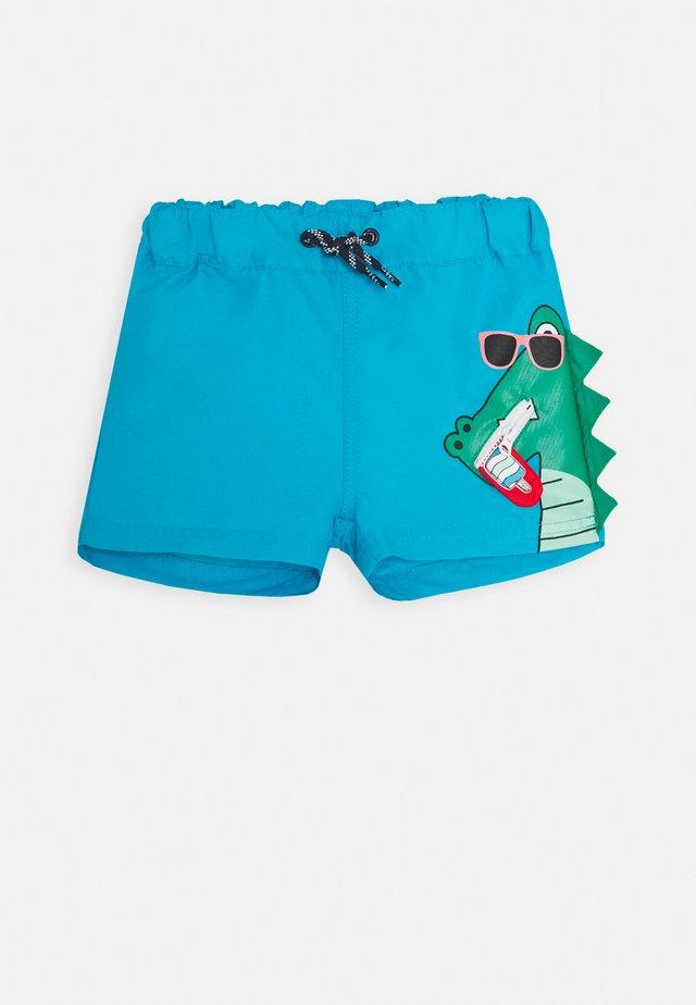 NMMZANIMOZ - Swimming shorts - hawaiian ocean