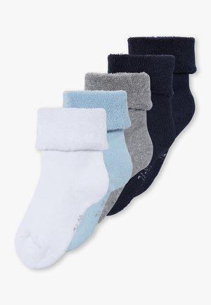 NBMRAFFE 5 PACK  - Ponožky - dark sapphire