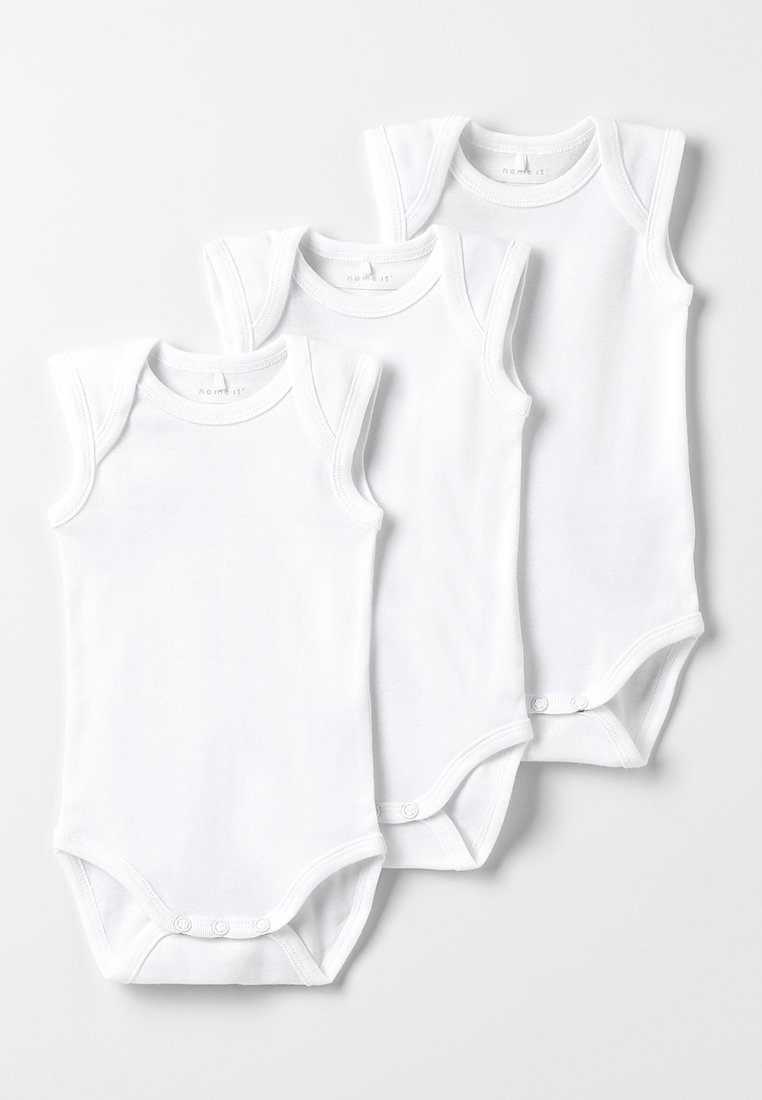 Name it - NBNBODY TANK SOLID BABY BASIC 3 PACK - Body - white