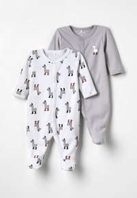 Name it - NBNNIGHTSUIT 2PACK - Pyjama - bright white - 0
