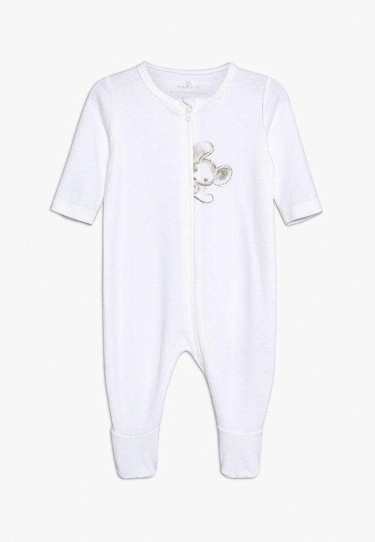 Name it - NBNUDOBE NIGHTSUIT BABY - Pyjama - bright white