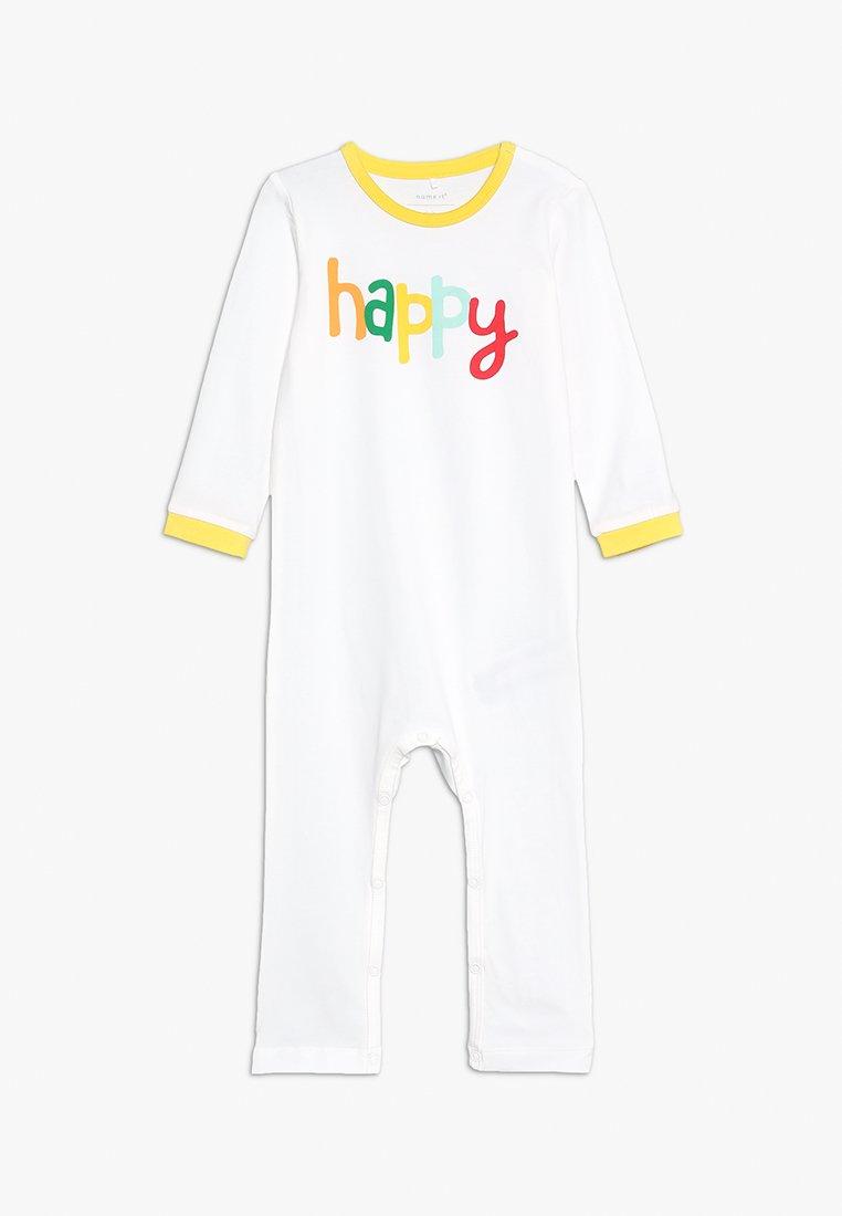 Name it - NBNBASTA SUIT - Pyjama - white yellow