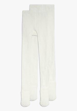 NMNPANTYHOSE 2 PACK - Panty - bright white