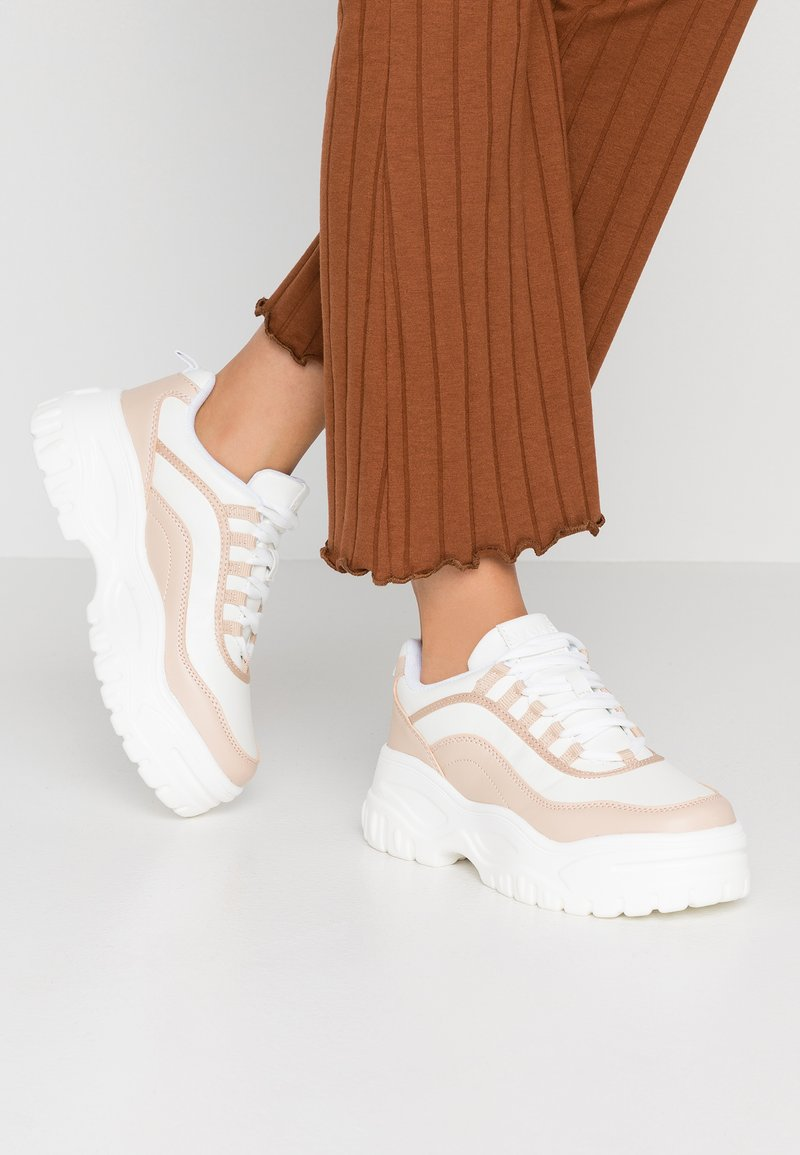 NA-KD - CHUNKY SOLE - Trainers - natural