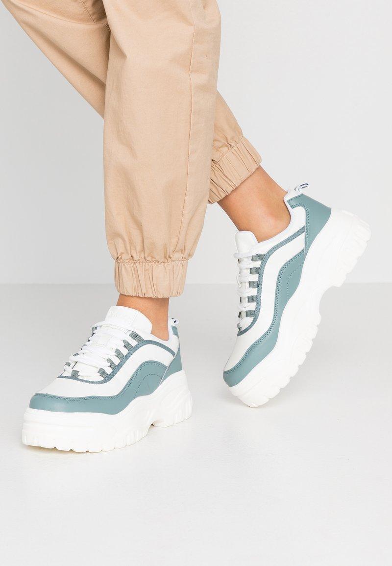 NA-KD - CHUNKY SOLE - Sneaker low - dusty mint