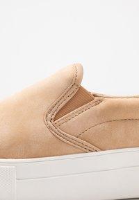 NA-KD - BASIC TRAINERS - Slippers - beige - 2