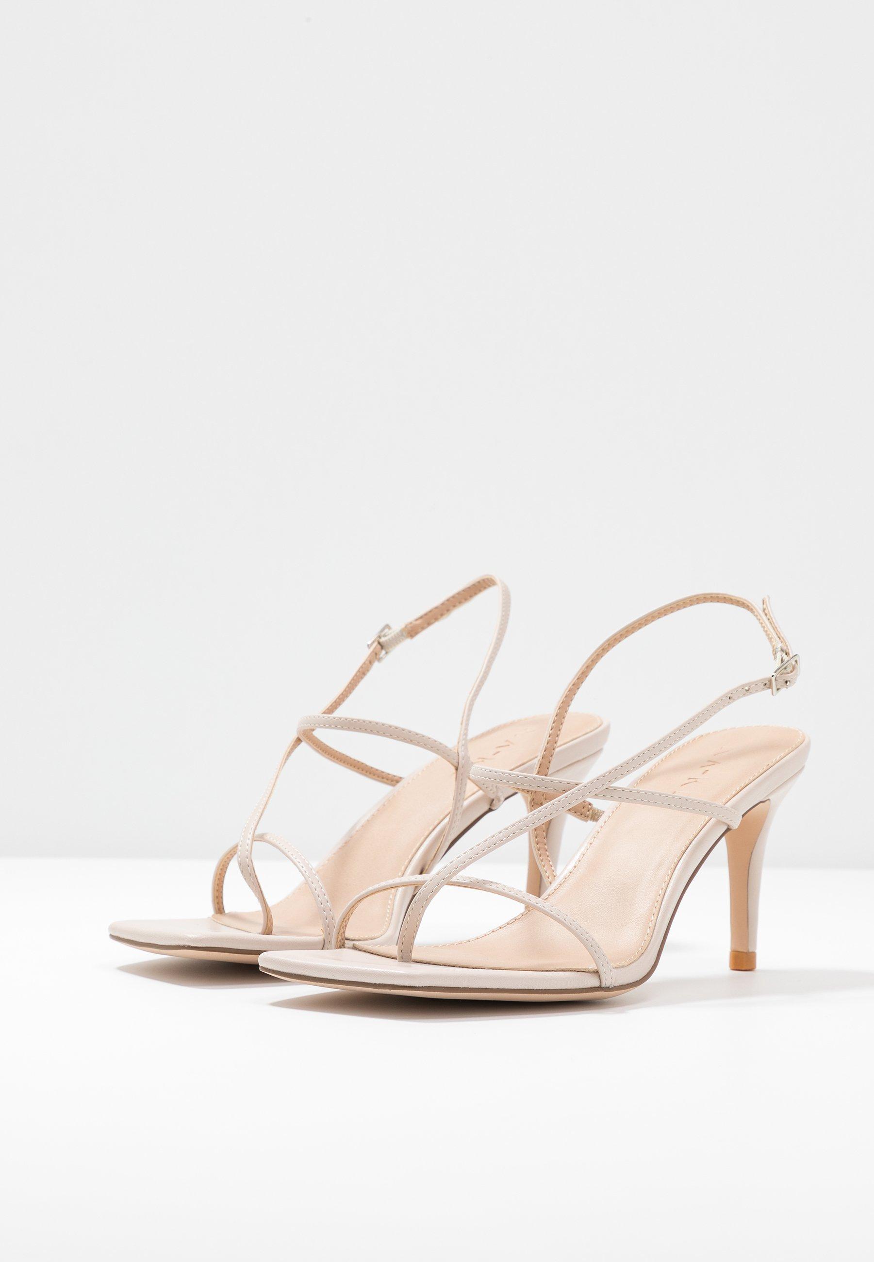 STRAPPY STILETTO Sandaletter nude