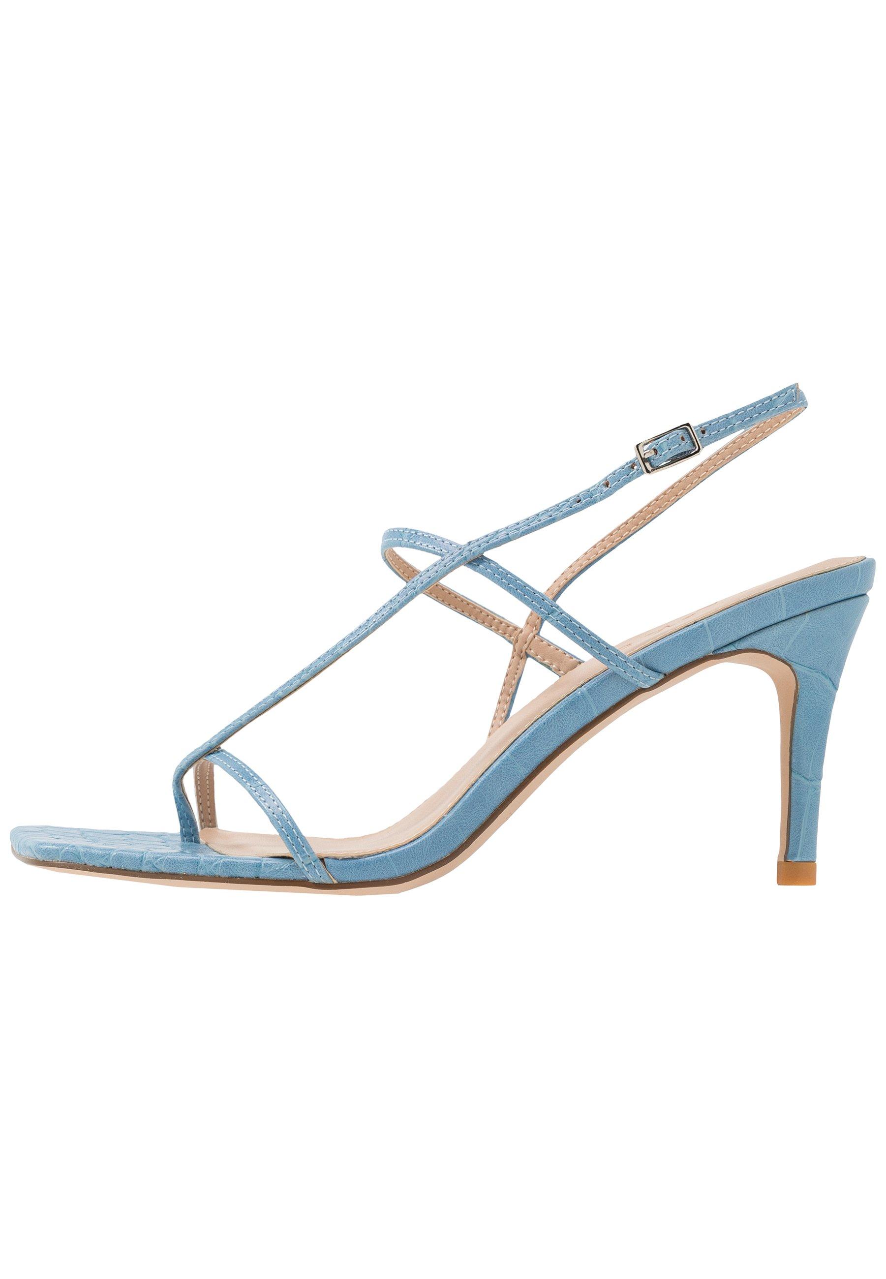 STRAPPY STILETTO Sandaletter light blue