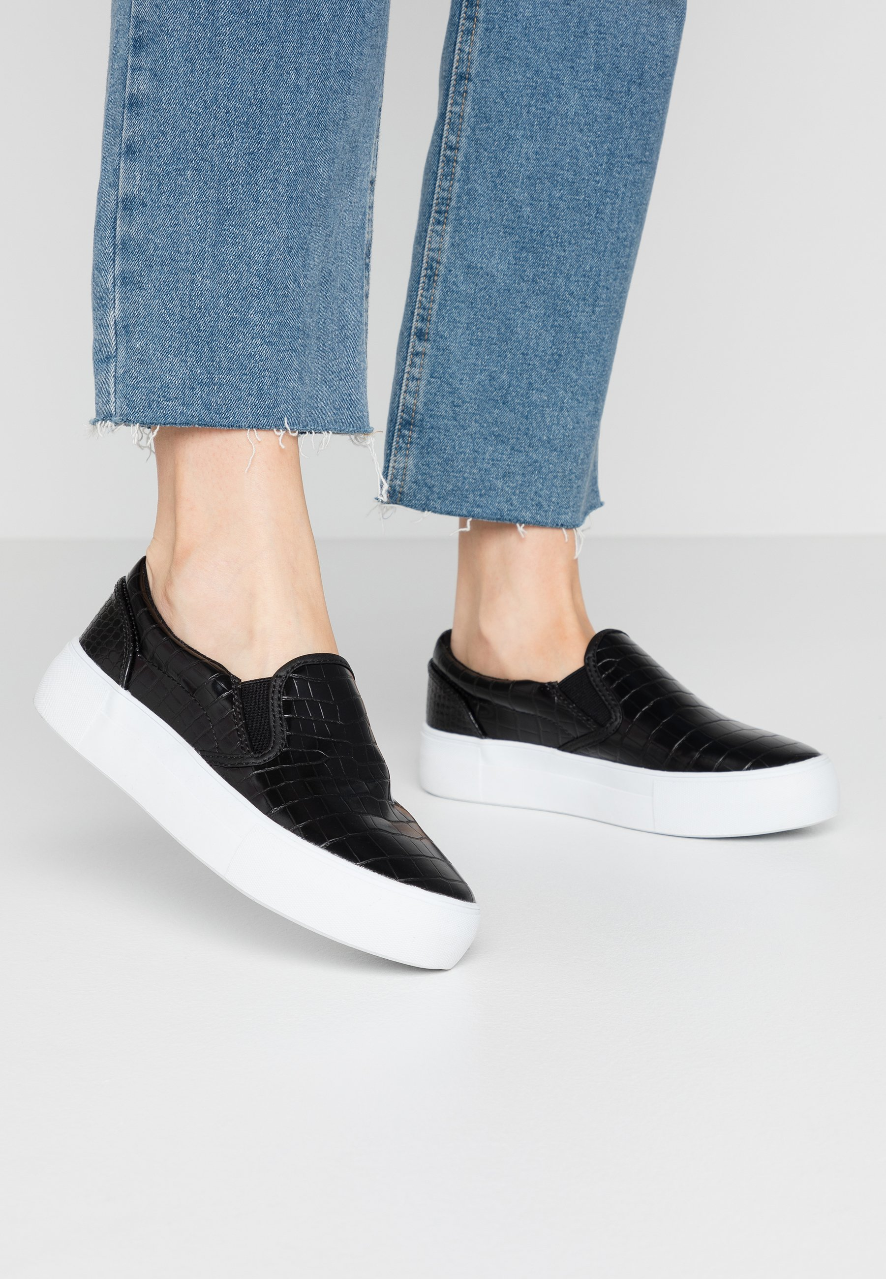 NA-KD TRAINERS - Loafers - black