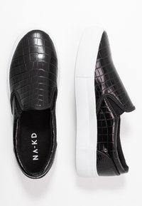 NA-KD - TRAINERS - Loafers - black - 2