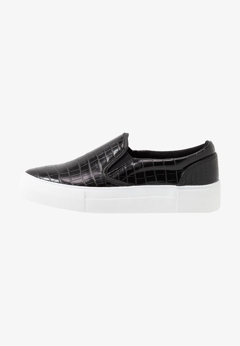 NA-KD - TRAINERS - Loafers - black