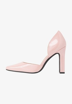 SQUARED - High heels - dusty pink