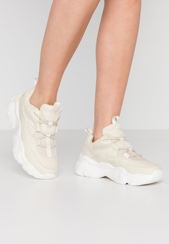 LOOP LACING STRUCTURED TRAINERS - Sneakers - nude