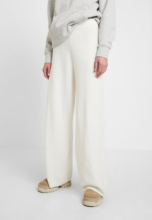 LOUNGE WIDE LEG PANTS - Bukse - off white