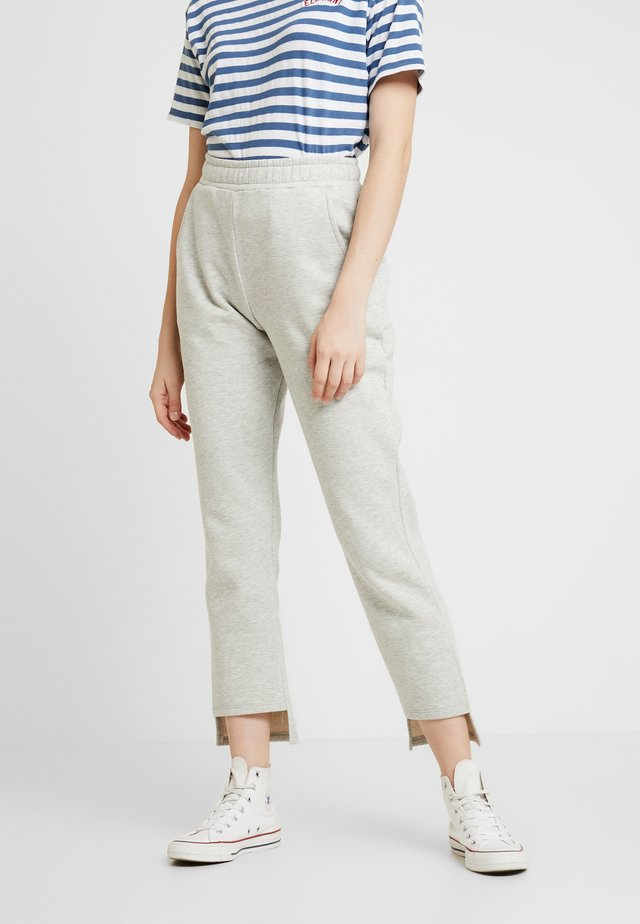 ELASTIC WAIST PANTS - Jogginghose - grey