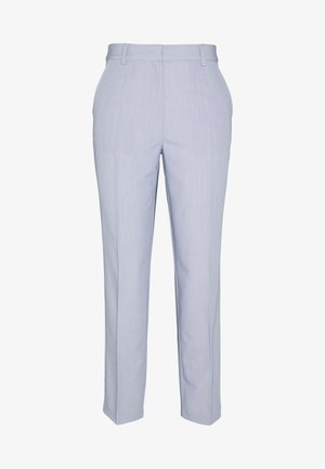 ZALANDO X NA-KD STRAIGHT SUIT PANTS - Pantaloni - dusty blue