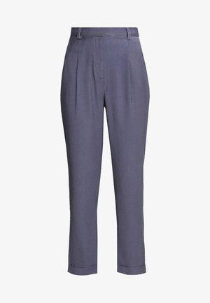 DARTED CROPPED - Kalhoty - blue