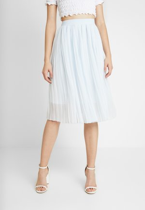 MIDI PLEATED SKIRT - Gonna a campana - pale blue